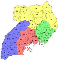 Uganda Districts