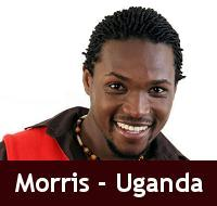 Morris Mugisha BBA3 Representative from Uganda